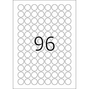 Herma 4386 SPECIAL Etiketten - DIN A4 - Ø 20 mm -...