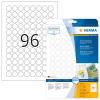 Herma 4386 SPECIAL Etiketten - DIN A4 - Ø 20 mm - rund - weiß - 2400 Stück