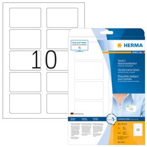 Herma 4412 VARIO Namensetiketten - DIN A4 - 80 x 50 mm -...