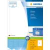 Herma 4458 PREMIUM Etiketent - DIN A4 - 200 x 297 mm - weiß - 100 Stück