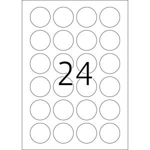 Herma 4476 SPECIAL Etiketten - DIN A4 - Ø 40 mm -...