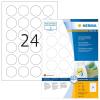 Herma 4476 SPECIAL Etiketten - DIN A4 - Ø 40 mm - weiß - rund - ablösbar - 2400 Stück