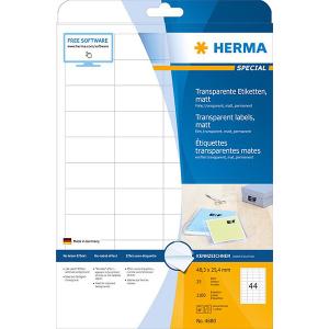 Herma 4680 SPECIAL Folien-Etiketten - DIN A4 - 48,3 x...
