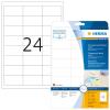 Herma 4681 SPECIAL Folien-Etiketten - DIN A4 - 66 x 33,8 mm - transparent - 600 Stück