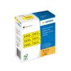 Herma 4801 Nummern - 10 x 22 mm - 0 bis 999 - schwarz - gelb - 3 x 1000 Stück