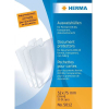 Herma 5012 Ausweishüllen - DIN A8 - 52 x 75 mm - transparent - dokumentenecht - 25 Stück