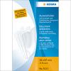 Herma 5013 Ausweishüllen - 58 x 87 mm - transparent - dokumentenecht