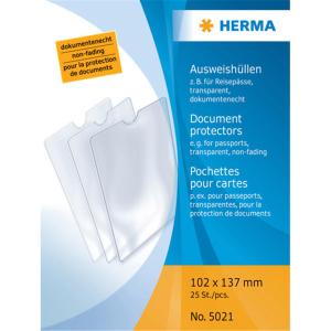 Herma 5021 Ausweishüllen - 102 x 137 mm -...
