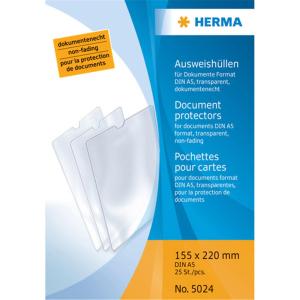 Herma 5024 Ausweishüllen - 155 x 220 mm -...