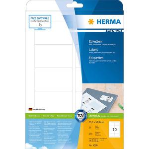 Herma 5028 PREMIUM Etiketten - DIN A4 - 83,8 x 50,8 mm -...
