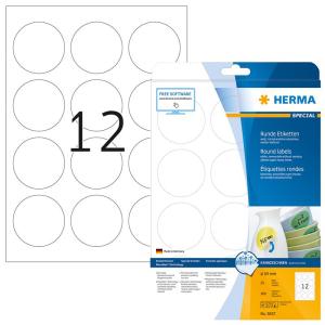 Herma 5067 SPECIAL Etiketten - DIN A4 - Ø 60 mm -...