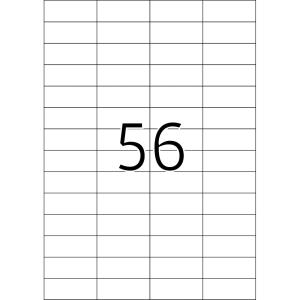 Herma 5080 SPECIAL Etiketten - DIN A4 - 52,5 x 21,2 mm -...