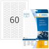 Herma 5116 SPECIAL Ringetiketten - DIN A4 - 49 x 10 mm - weiß - 1500 Stück