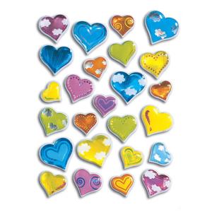 Herma 5217 MAGIC Sticker - Herzen - Stone - 25 Sticker