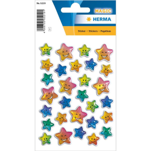 Herma 5219 MAGIC Sticker - Sterne - Stone - 29 Sticker