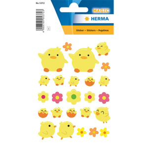 Herma 5372 MAGIC Sticker - Küken