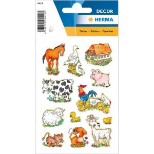 Herma 5419 DECOR Sticker - Bauernhoftiere - 36 Sticker