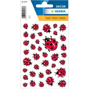 Herma 5439 DECOR Sticker - Marienkäfer - 111 Sticker