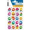 Herma 5444 DECOR Sticker - Lustige Gesichter - 60 Sticker