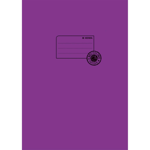 Herma 5536 Heftschoner - DIN A4 - Papier - violett