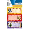 Herma 5574 VARIO Schuletiketten - Schmetterlinge - 6 Stück