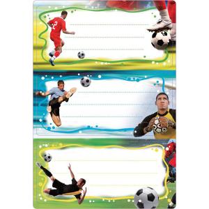Herma 5588 VARIO Schuletiketten - Fußball - 6...