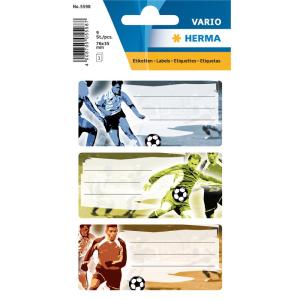 Herma 5598 VARIO Schuletiketten - Fußball - 9...