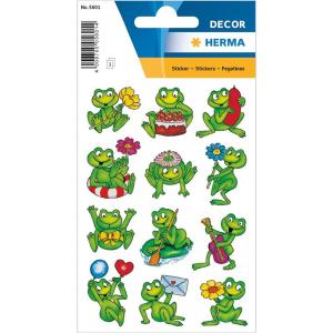 Herma 5601 DECOR Sticker - Frösche - 36 Sticker
