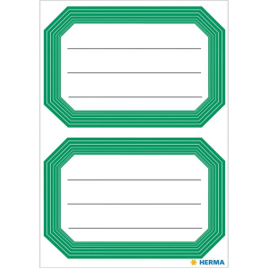 Herma 5716 VARIO Schuletiketten - neutral - grüner...