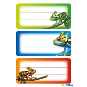 Herma 5876 VARIO Schuletiketten - Gecko - 9 Stück