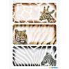 Herma 5877 VARIO Schuletiketten - Afrikanische Tiere - 9 Stück