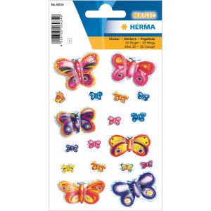 Herma 6034 MAGIC Sticker - Schmetterlinge