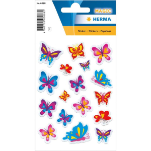 Herma 6088 MAGIC Sticker - Schmetterlinge
