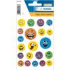 Herma 6153 MAGIC Sticker - Gesichter - geprägt - 21 Sticker