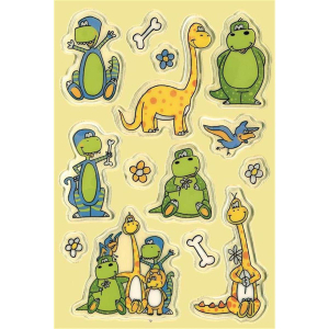 Herma Magic Sticker Dinos, Transpuffy