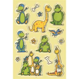 Herma 6189 MAGIC Sticker - Dinos - transpuffy