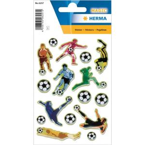 Herma 6257 MAGIC Sticker - Fußballer in Aktion -...