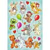 Herma 6264 MAGIC Sticker - Tiergeburtstag
