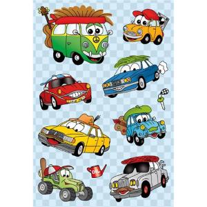 Herma 6376 MAGIC Sticker - lustige Autos