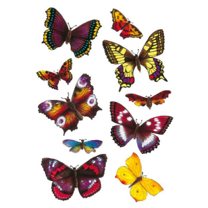 Herma 6388 MAGIC Sticker - Schmetterlinge