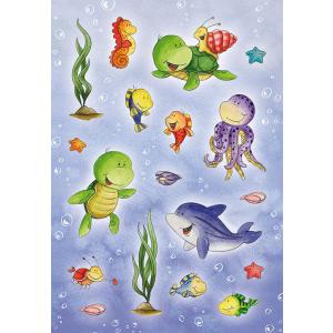 Herma 6397 MAGIC Sticker - Unterwassertiere - Stone