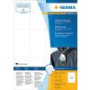 Herma 6872 SPECIAL Stabile Anhänger - DIN A4 - 52,5 x 93,5 mm - weiß - nicht klebend - 1200 Stück