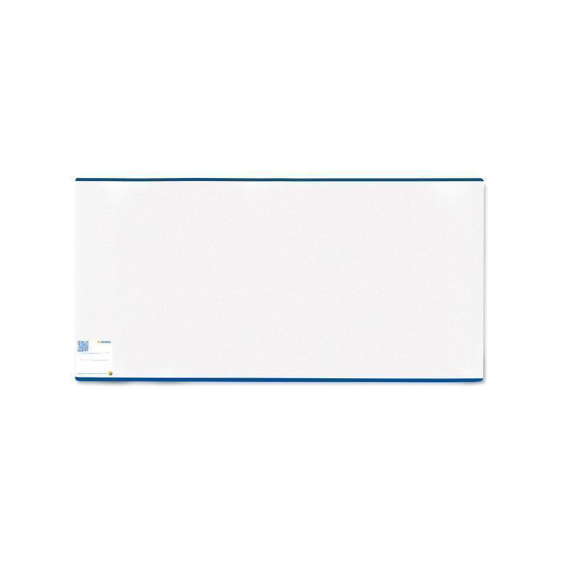 Herma 7205 HERMÄX Buchschoner - 205 x 380 mm - blauer Rand - transparent - normal lang