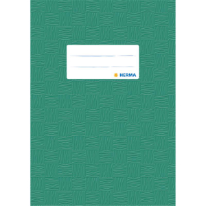 Herma 7425 Heftschoner - DIN A5 - gedeckt - dunkelgrün