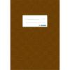 Herma 7427 Heftschoner - DIN A5 - gedeckt - braun