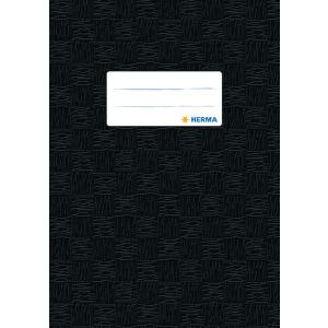 Herma 7429 Heftschoner - DIN A5 - gedeckt - schwarz