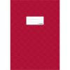 Herma 7450 Heftschoner - DIN A4 - gedeckt - weinrot