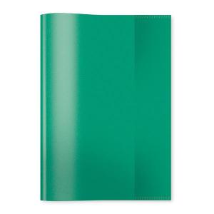 Herma 7485 Heftschoner - DIN A5 - transparent - dunkelgrün