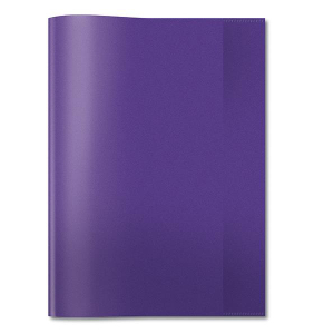 Herma 7496 Heftschoner - DIN A4 - transparent - violett