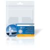 Herma 7688 CD DVD Hülle - 129 x 130 mm - transparent - selbstklebend - 10 Stück